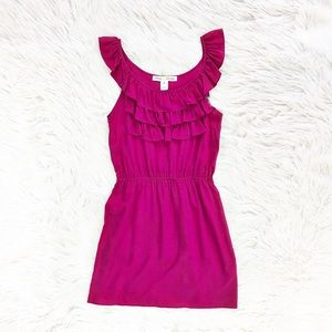 Amanda Uprichard ruffled silk dress